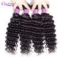 Peruvian Deep Wave Bundle Deals 100% Human Hair Extensions Can Buy 3/4 Bundles Fast Shipping Remy Cheap Human Hair Bundles