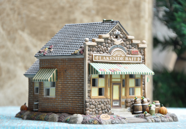 Ceramic Christmas House. Top This Christmas Season It Has A Cord ...