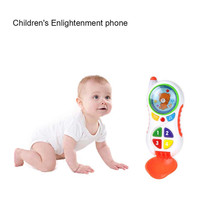 Baby Toys Cell Phone Toy With Sound And Light Learning Study Kid Music Educational Birthday Christmas Gift  W603