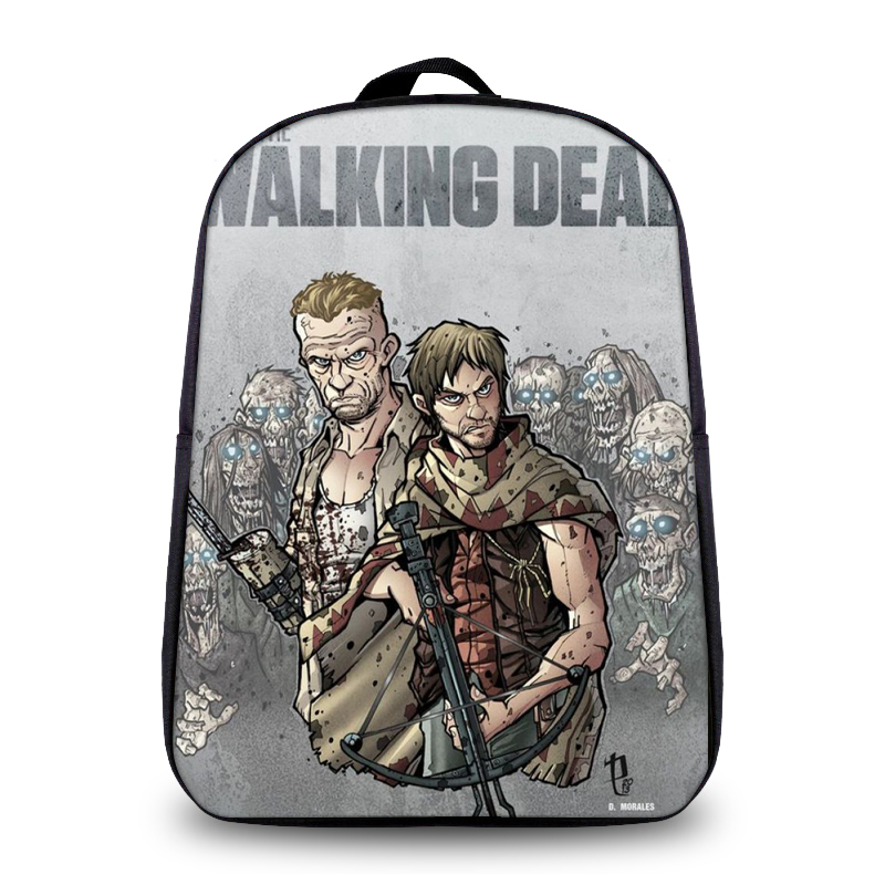 ce5a6e0b57 The Walking Dead Fashion Backpack Daryl Women Saviors Men Travel Bags Boys  School Daily Bags Bookbag Printing Laptop Backpacks-in Backpacks from  Luggage ...