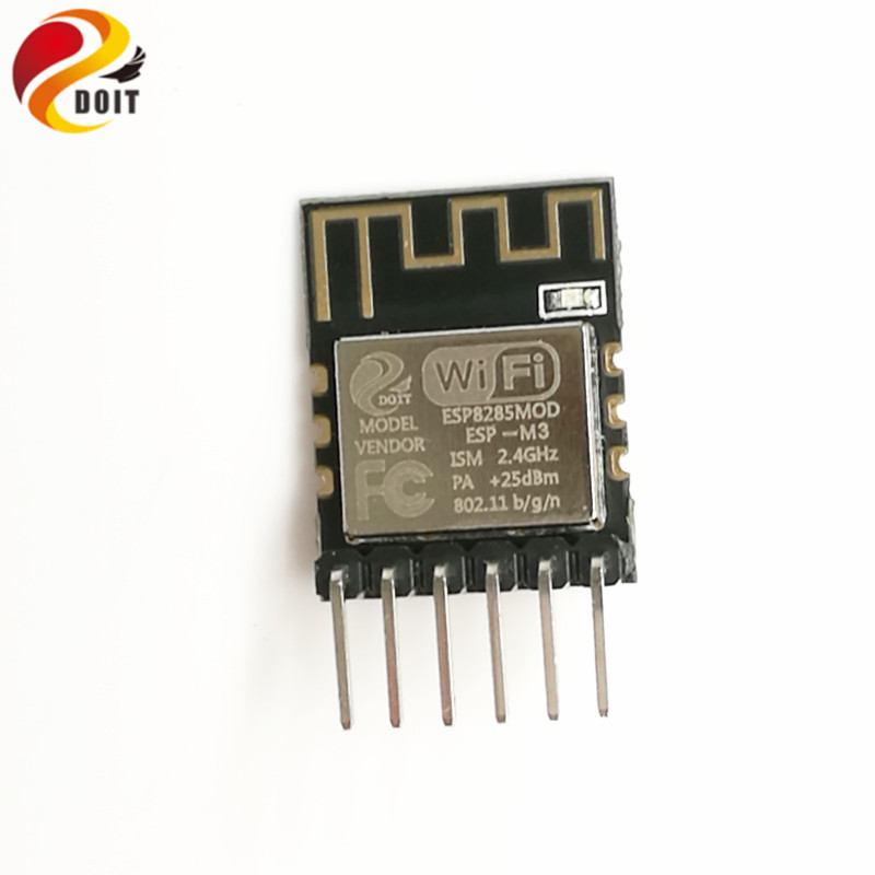 DOIT ESP-M3 1M Flash from ESP8285 Serial Wireless WiFi Transmission Module Fully Compatible with ESP8266 doit v3 new nodemcu based on esp 12f esp 12f from esp8266 serial wifi wireless module development board diy rc toy lua rc toy