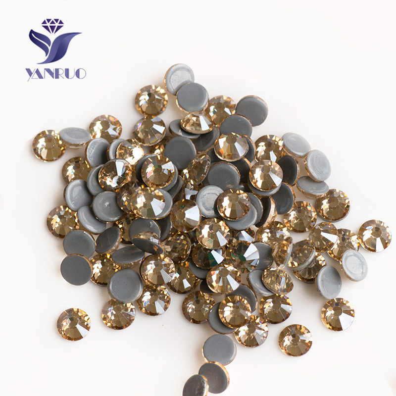 Detail Feedback Questions about YANRUO 2058HF Hotfix Cristal Rhinestone  Crystal Applique Strass Hot Fix Iron On Stones Clothes Wedding Dress  Decoration on ... e0616fd7e4fa