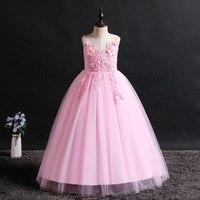 Dress Girl Embroidered Long Sleeveless Fashion Dress Gothic Dress Lolita Skirt Renaissance Lolita Lace Dress