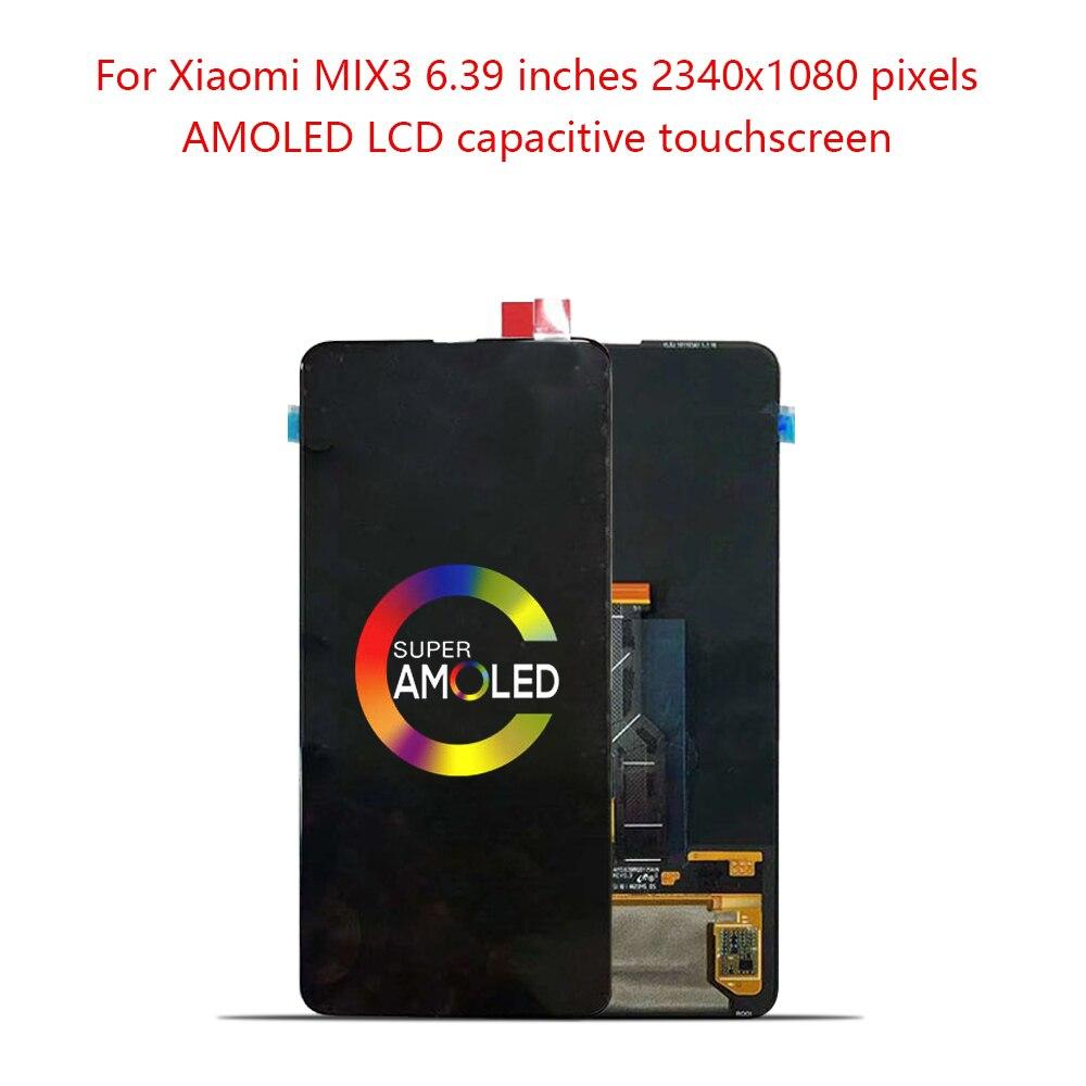 "Original 6.39""Super Amoled for Xiaomi Mi Mix 3 LCD Touch Panel Screen Digitizer for XIAOMI Mi Mix 3 Display"