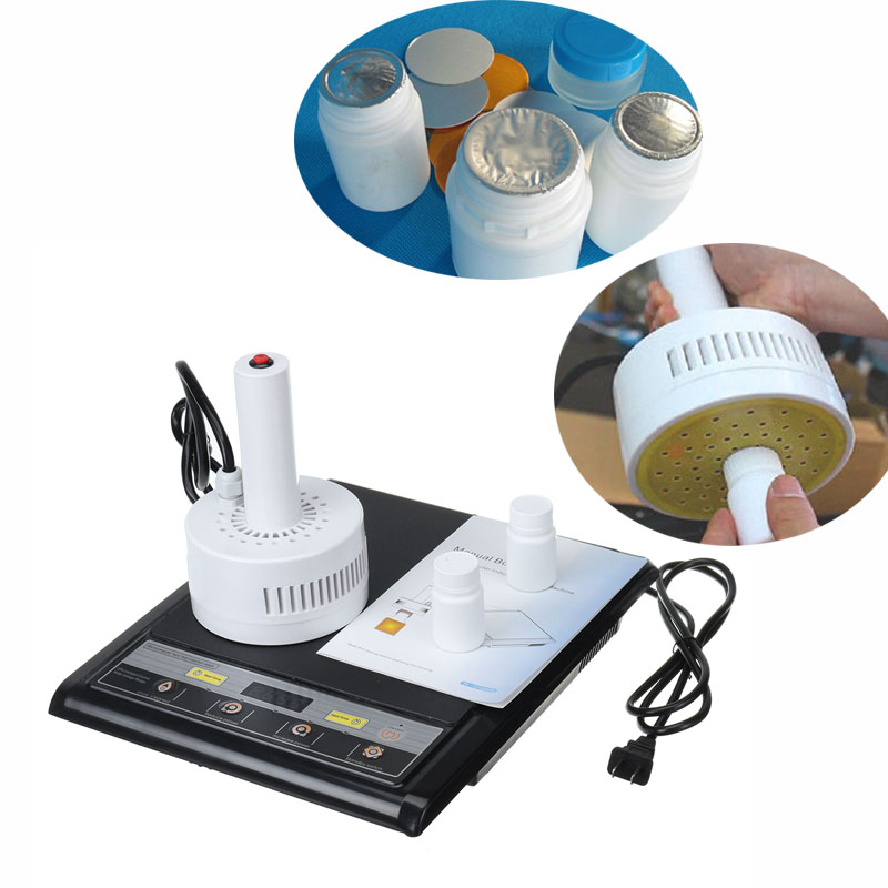 Microcomputer Hand Held Electromagnetic Continuous Induction Sealer ,Induction Aluminum Foil Glass PE Bottle Sealing Machine
