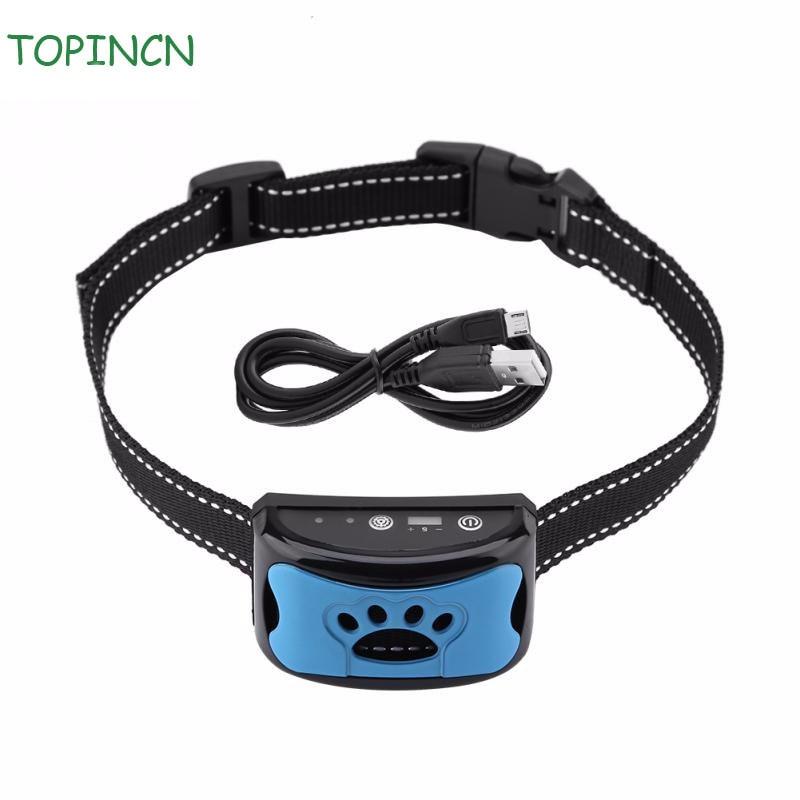 Dog-Barking-Control-Device Levels Anti-Barking Collar Waterproof Rechargeable 7-Sensitivity