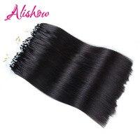 Alishow Micro Loop Hair Extensions 100g Vis lijn Haar 20