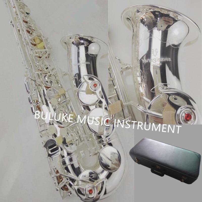 YANAGISAWA Japanese new 901 sterling silver plated alto saxophone YANAGISAWA sales promotion free shipping gametrix kw 901