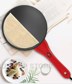 цена на Household Non-stick Pan Electric Cake Stall Pancake Machine Portable Electric Bread Machine Grilled Pancake Machine