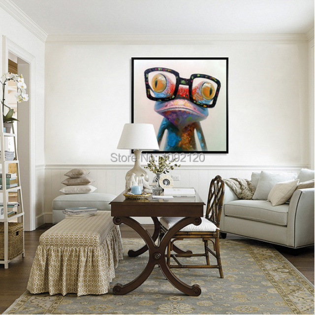 Https Www Aliexpress Com Store Product Hand Painted Hot Sell Low Price Wall Art Home Decoration Doctor Frog Living Room Decor Unique 1092120 2029359786 Html