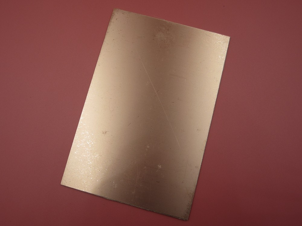 1PCS/LOT FR4 Blank Copper Clad Circuit Board Single Side 10x15cm PCB 1.5~1.6MM universal single sided pcb copper clad board for diy 10 piece pack