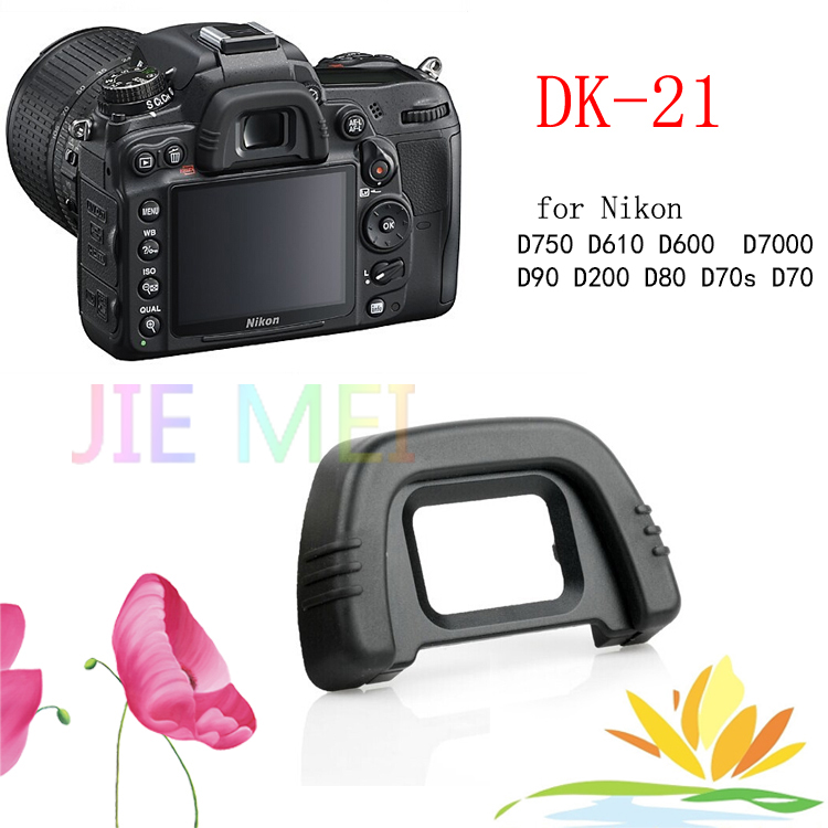 DK-21 Rubber Eye Cup Eyepiece Eyecup for Nikon D750 D610 D600 D7000 D90 D200 D80 D70s D70 Camera Free Shipping stylish ladies pendant silver plated necklace