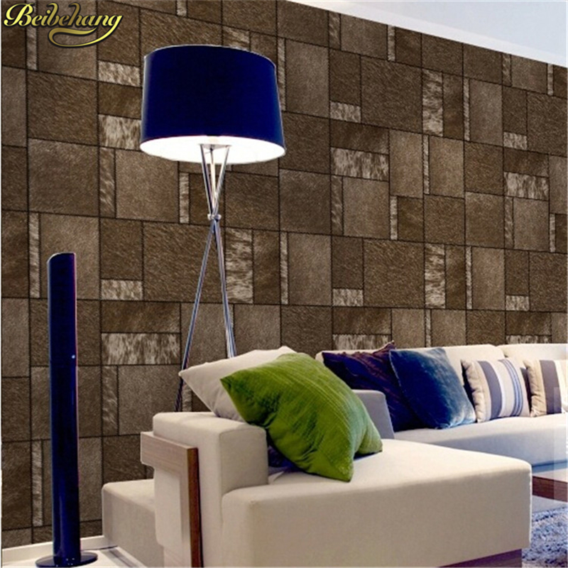 beibehang papel de parede 3D Imitation leather soft bag wall paper roll Wall covering Square wallpaper for walls 3 d Living room beibehang custom marble pattern parquet papel de parede 3d photo mural wallpaper for walls 3 d living room bathroom wall paper