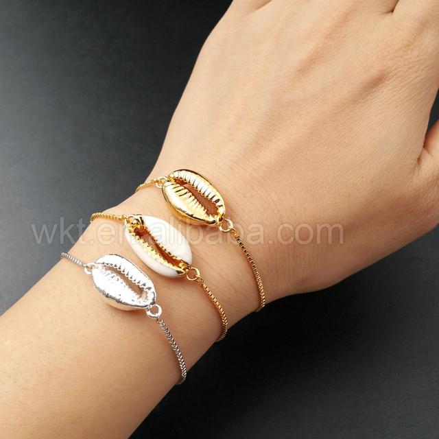 Женский браслет с металлическим гальваническим покрытием 5 шт/лот