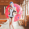 Anime Re Life A Different World From Zero Ram Rem Fanart Cosplay Costume Kawaii Swimsuit Re