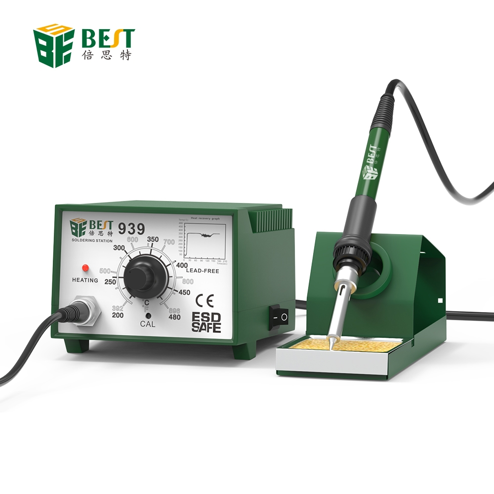 60W Soldering Station Constant Temperature Electronic Soldering Iron With Stand