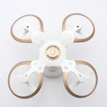 Foldable 3.7 V 400mAh Mini Drone 2.4G 4-axis 3D Roll WiFi RC Quadcopter Helicopter Drone With Camera