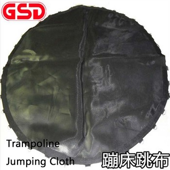 GSD Trampoline Replacement Jumping Mat Fits For Round Frames With V-Rings - MAT ONLY High Elastic Trampoline Mat