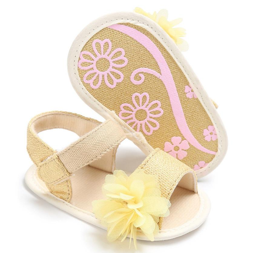 MUQGEW Baby Shoes Toddler Girl Shoes Cute Flower Lovely Crib Shoes Soft Prewalker Soft Sole Baby Girl First Walkers
