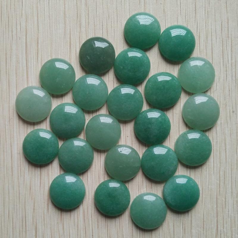 2016 <font><b>hot</b></font> <font><b>selling</b></font> <font><b>high</b></font> <font><b>quality</b></font> natural green aventurine round cabochon 20mm stone beads 20pcs/<font><b>lot</b></font> Wholesale <font><b>free</b></font> <font><b>shipping</b></font>
