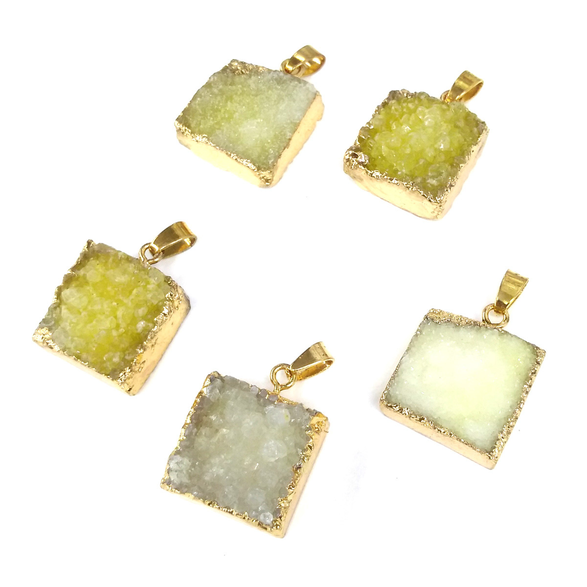 Natural Stone Hot Selling Trendy Agates Pendants Necklace Pendant for Jewelry Making DIY Necklace Size 21x31mm