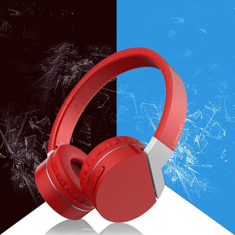 Casque sans fil Bluetooth, tête montée, basses lourdes, pliage, course, téléphone portable, confortable et polyvalent, profitez de la musique pure.
