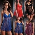 Цена завода Женщин Сексуальное Высокая Эластичность Кружева Пижамы Пижамы Белье Ночное Белье