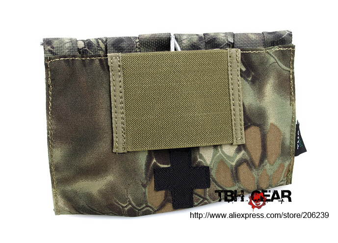 TMC 9022B Modular Medical Blow-out Kit Pouches Medical Pouch In Kryptek Manrake+Free shipping(SKU12050466)