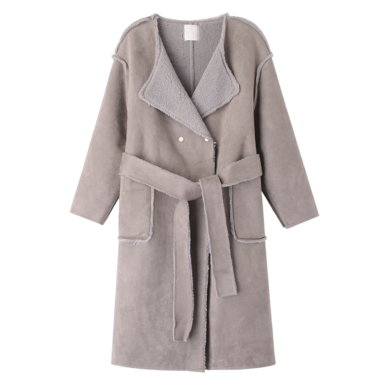 hd3b 2018 autumn and winter clothing new Korean version of the trend of fashion long casual