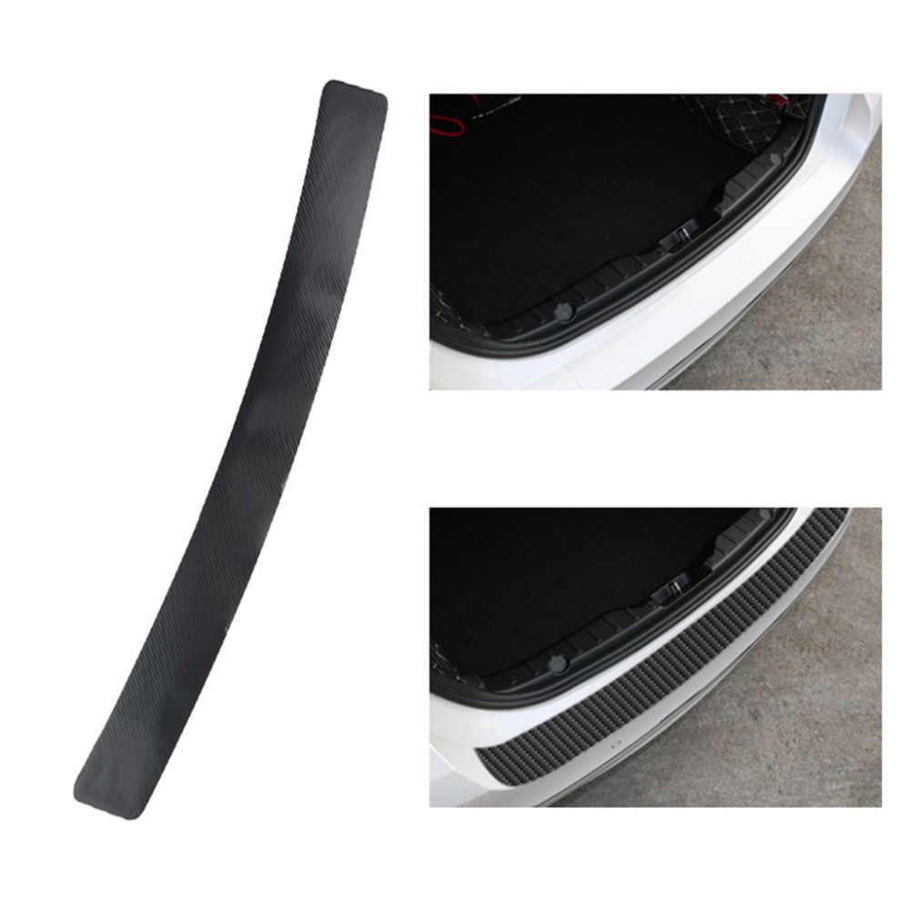 Acessórios do carro Etiqueta Do Carro do peitoril da porta scuff pedal bem-vindo limiar Proteger a fibra de carbono Adesivos 4.0 #