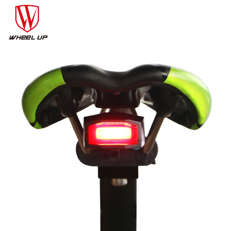 WHEEL UP Anti-theft Bike Alarm light Bicycle Taillights Waterproof Security MTB Bike Rear Light Lamp SOS Cycling Light Taillight wheel up waterproof bike bicycle lights mtb bicycle front head light rear lamp xc 215 xc 235r 2018