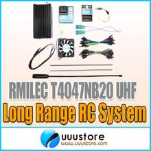 120KM Long Range RMILEC T4047NB20 NB20 20 Channel 5W 433Mhz UHF System w Receiver for JR