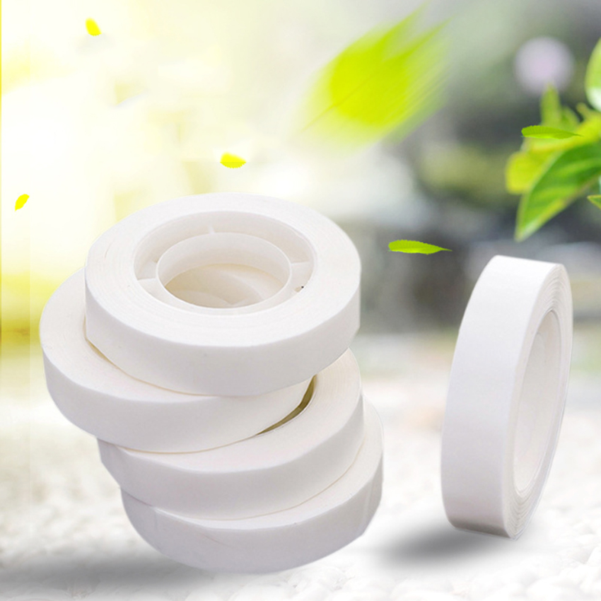 1pack/lot  Creative White Invisible Washi Tape DIY Decorative Adhesive Can Be Written To Correct The Wrong Student Stationery