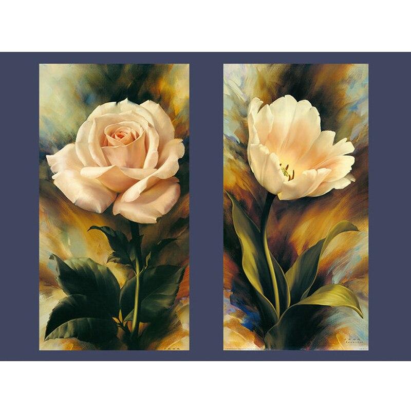 Diamond izšūšana šūpoles Rose gleznas Cross Stitch Rhinestone - Māksla, amatniecība un šūšana