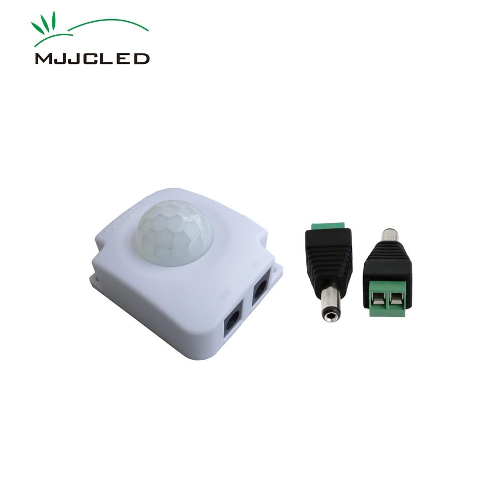 цена на LED Movement Sensor Motion Light Switch 12V 24V 5V Motion Sensor Automatic Infrared Timer Detector PIR Switch 12V Photoswitch