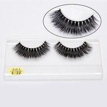 3D Mink Eyelashes Thick False Eye Lashes Extension