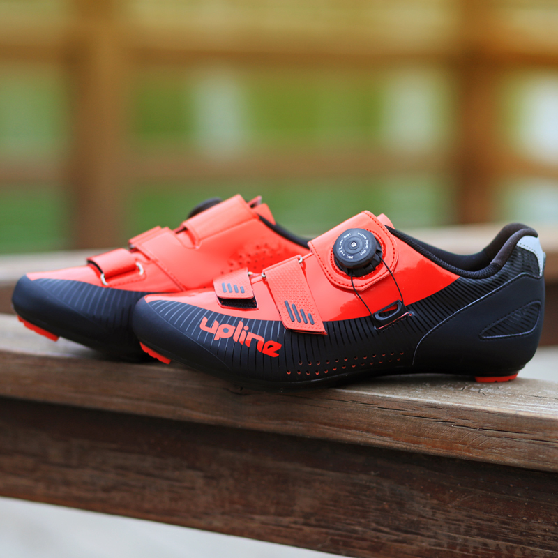 2019 new upline road cycling shoes winter road bike shoes men ultralight bicycle sneakers self locking professional breathable