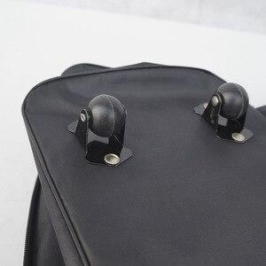 Image 4 - 2019 LEINASEN wholesale ultra light luggage travel bag large capacity universal wheels retractable folding tug box luggage bag