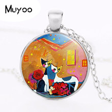 2017 new hot 2015 Brand Boutique Rosina Wachtmeister Cats Accessories Colorful Cats Silver Classic Joyas Order in Aliexpress HZ1(China)
