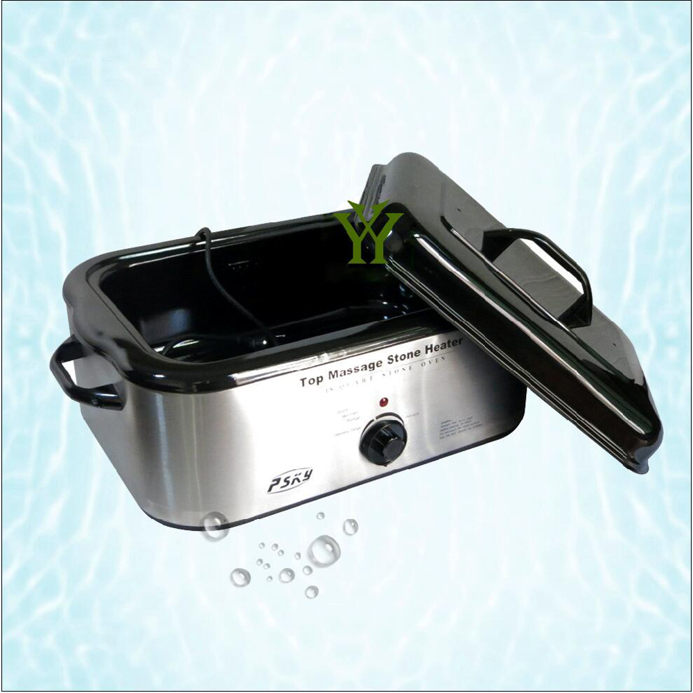 New 220V 1450W electric heat massage energy stone heater 18L English explanations