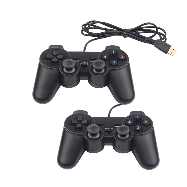 Wired USB Game Controller Joystick Gamepad for PS3 Raspberry Pi PC Windows Android Linux Retroflag NESPI SUPERPi CASE