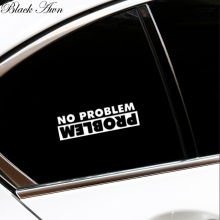 цена на No Problem, Problem Sticker / Decal for Jeep truck car mud roll over diesel D094
