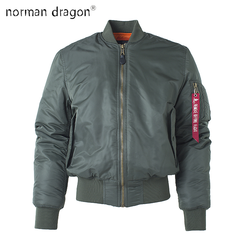 norman dragon Military tactical Male Army MA-1 Flight Bomber Jacket Baseball Varsity