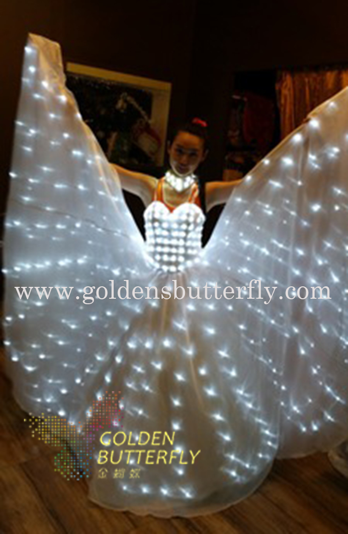Led Wedding Dress Luminous Suits Light Clothing Glowing Skirt For Women Ballroom Dance China Las Accessories In From Novelty