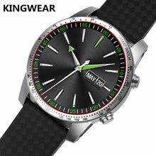 Оригинальный Kingwear kw99 3G Смарт-часы ОС Android 5.1 телефон 4 ядра поддержка 3G Wi-Fi GPS сердечного ритма Мониторы Bluetooth SmartWatch