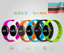 Smart Band H8 Heart Rate Tracker Wearable Bluetooth Sport Health Monitoring Bracelet Anti-Lost Wristband