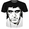 New Arrive Women/men Summer Fashion 3d t shirt Movie Scarface Character Al Pacino t shirts Casual Harajuku tee shirts tops