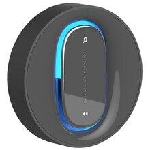 Self-Powered Waterproof Wireless Doorbell Remote Control Home Doorbell(Eu Plug) #