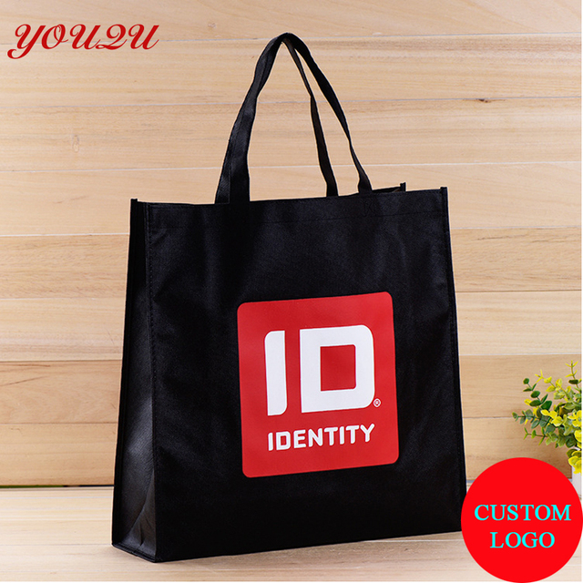 40 30 8cm Non Woven Big Tote Bag Advertisement Packing Bag Eco