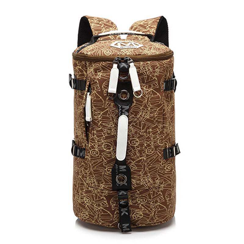 Men's Multi-Functional Backpack Vintage Shoulder Bag High Quality Canvas Male Bagpack Rucksack Travel Luggage for Weekend 16